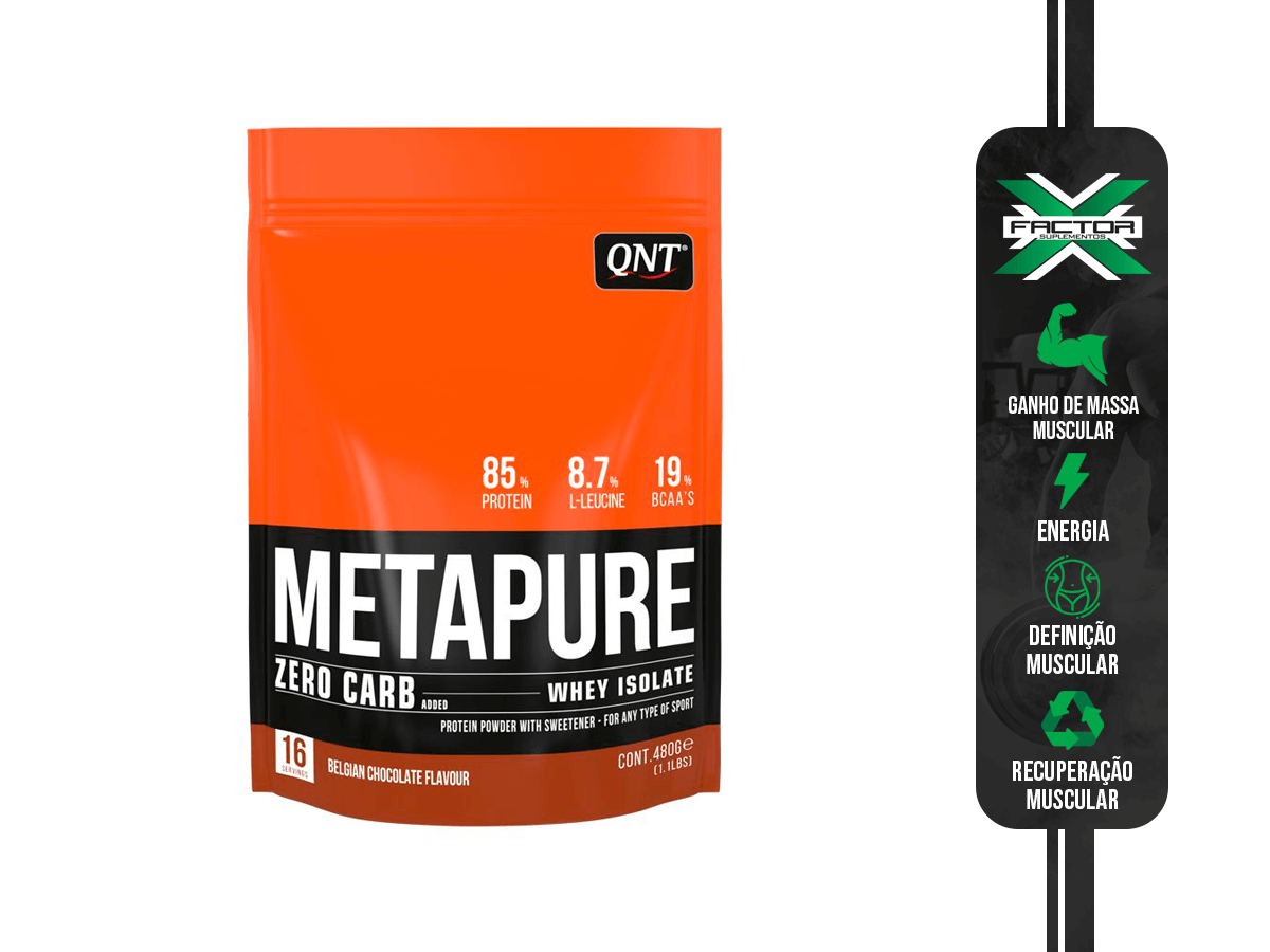 ZERO CARB METAPURE 480G QNT RED CANDY