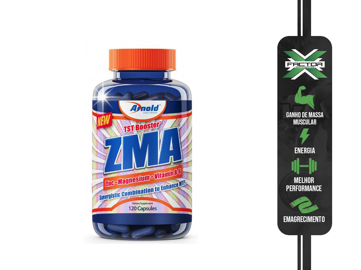 ZMA (120CAPS) ARNOLD NUTRITION ARNOLD NUTRITION