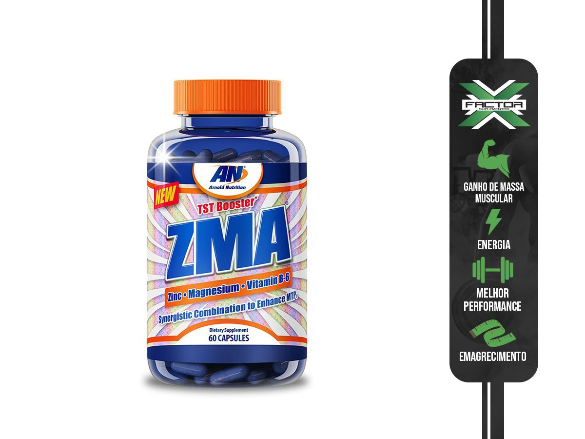 ZMA (60CAPS) ARNOLD NUTRITION ARNOLD NUTRITION