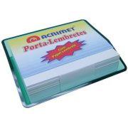 Porta lembrete verde clear c/papel 957 5 Acrimet
