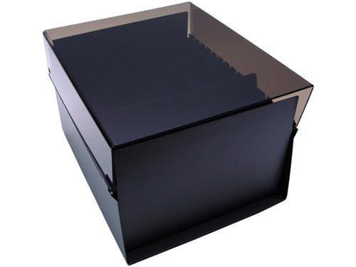 Fichario Acrimet 914 1 de mesa para ficha 6x9 sem indice cor fume
