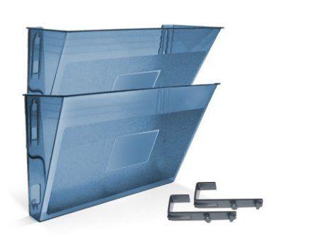 Pasta Acrimet 867 3 organizadora modular conjunto com duas peças cor azul