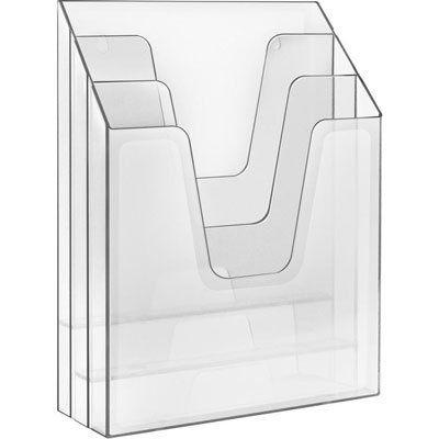Pasta Acrimet 864 1 organizadora vertical cristal