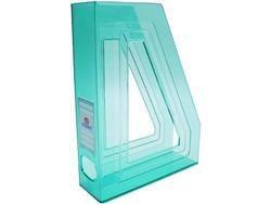 Porta revista Acrimet 278 5 classic verde pacote com 4 un