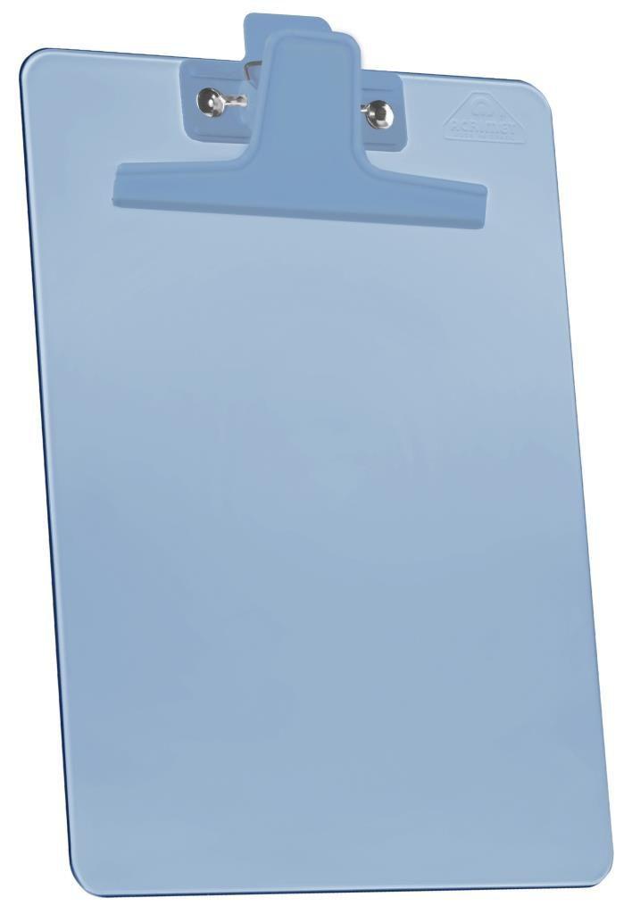 Prancheta 1/2 PP Azul clear Prendedor Metalico 150 2
