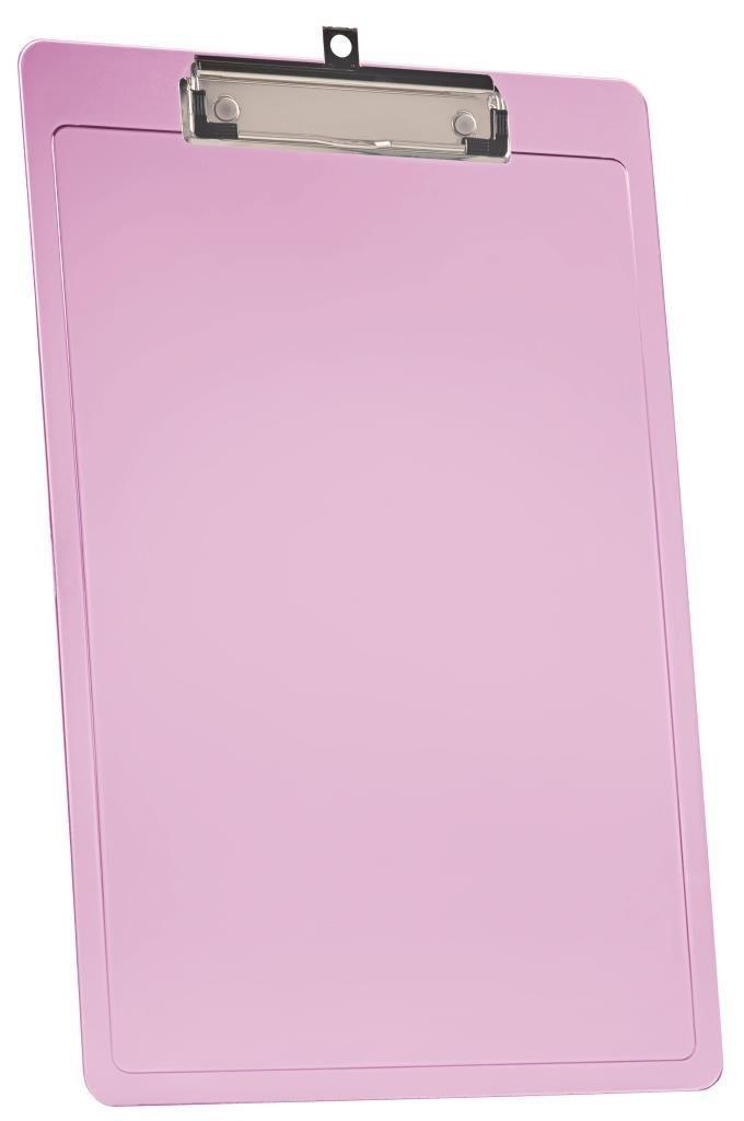 PRANCHETA A4 EXPORT C/PREND. WIRE CLIP ROSE CLEAR 138 7