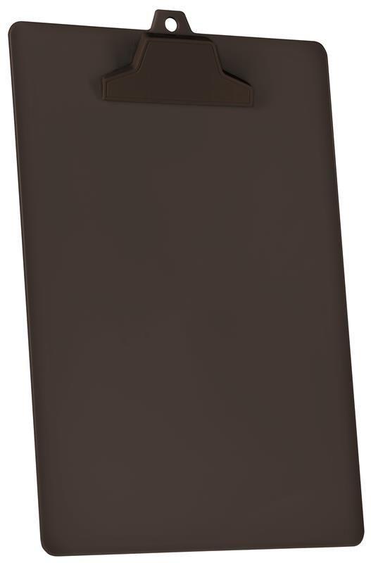 Prancheta Acrimet pop 129 4  pp com prendedor plastico A4 cor preta