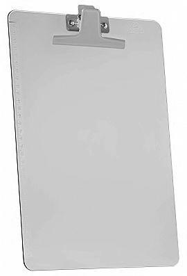 Prancheta Acrimet 151 1  premium com prendedor metalico smart oficio  cor fume caixa com 12 unidades
