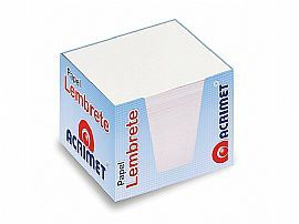 Refil Acrimet 953 0 porta lembrete  branco  pacote com 750 folhas
