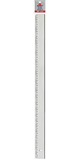 Regua em poliestireno 60cm cristal 516 0 Acrimet