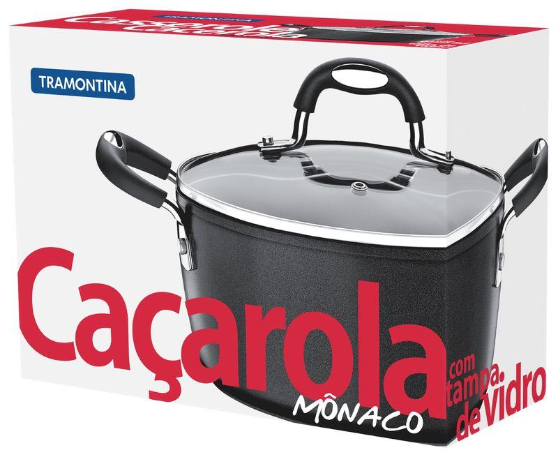 Cacarola Aluminio 20Cm Monaco Tramontina