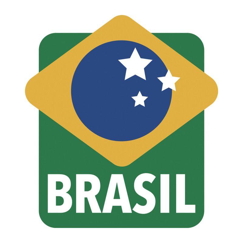 Jogo Mini Forma Alumínio 6 Peças Brasil Vermelha Tramontina