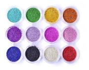 Caviar para Decoração de Unhas Colorido com 12 unidades Vivi