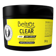 Gel Hard Para Unhas Clear Beltrat 30g LED/UV Autonivelante