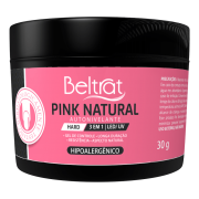 Gel Hard Para Unhas Pink Natural Beltrat 30g LED/UV Autonivelante