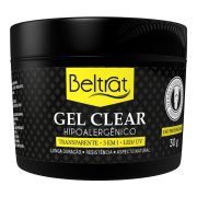 Gel Para Unhas Clear (Transparente) Beltrat 30g LED/UV Autonivelante