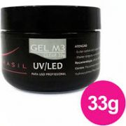 Gel Para Unhas Magic Nails M3 Clear (Transparente) LED/UV 33g