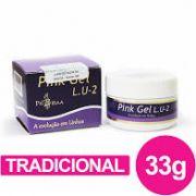 Gel Para Unhas Piu Bella Lu2 Pink (Rosa) 33g - Tradicional