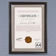 Moldura Para Diploma/Certificado