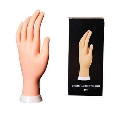 Mão Sintética para Treino de Unhas (Manicure)