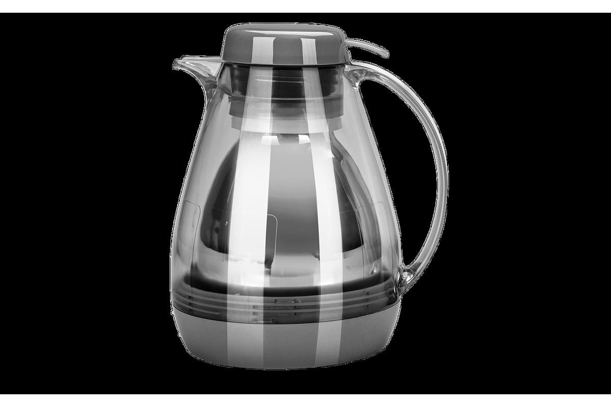Bule Térmico com Gatilho Brinox Cozy Warm Grey Coza 61063/3126