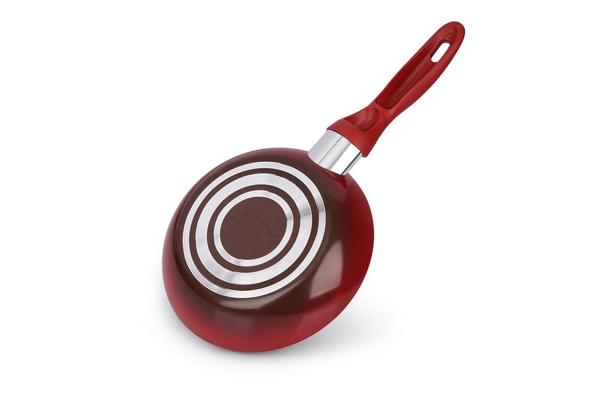 Conjunto de Panelas Brinox Ceramic Life Smart Vermelho 4789/100 - 5 Peças