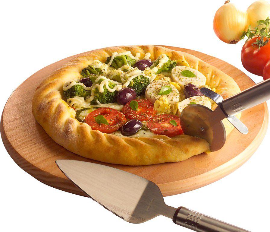 Jogo de Pizza Top Line Pizza da Casa 531 - 3 Peças