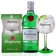 Gin Tanqueray 750ml com uma Taça Personalizada