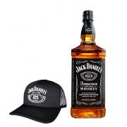 Kit Jack Daniel's NO.7 com Boné Jack Daniel's Exclusivo Preto