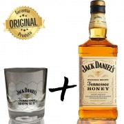 Whisky Jack Daniel's Honey 1L com Copo Honey