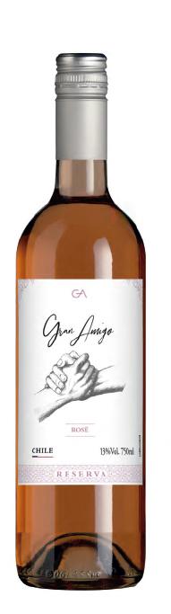 Vinho Gran Amigo Rosé Reserva
