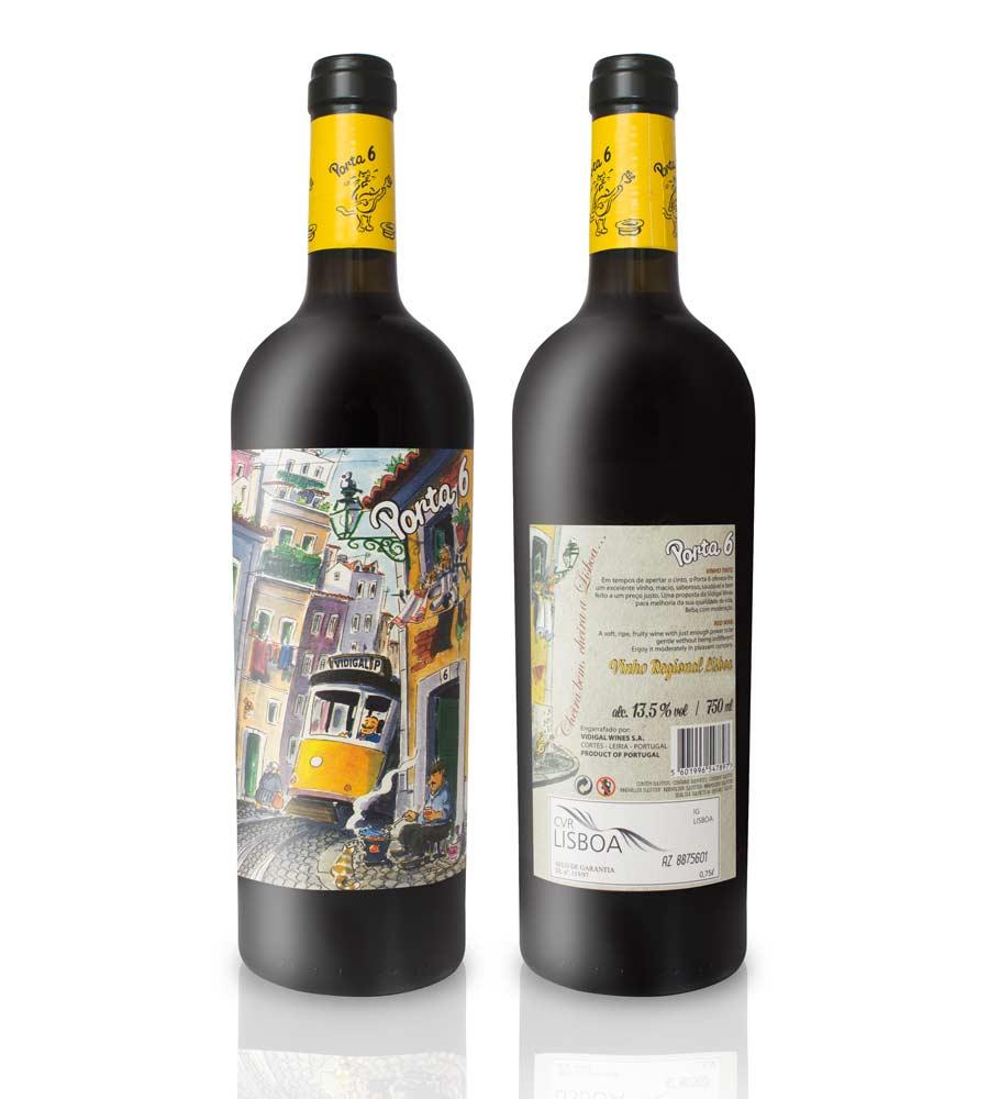Vinho Tinto Porta 6 750ml