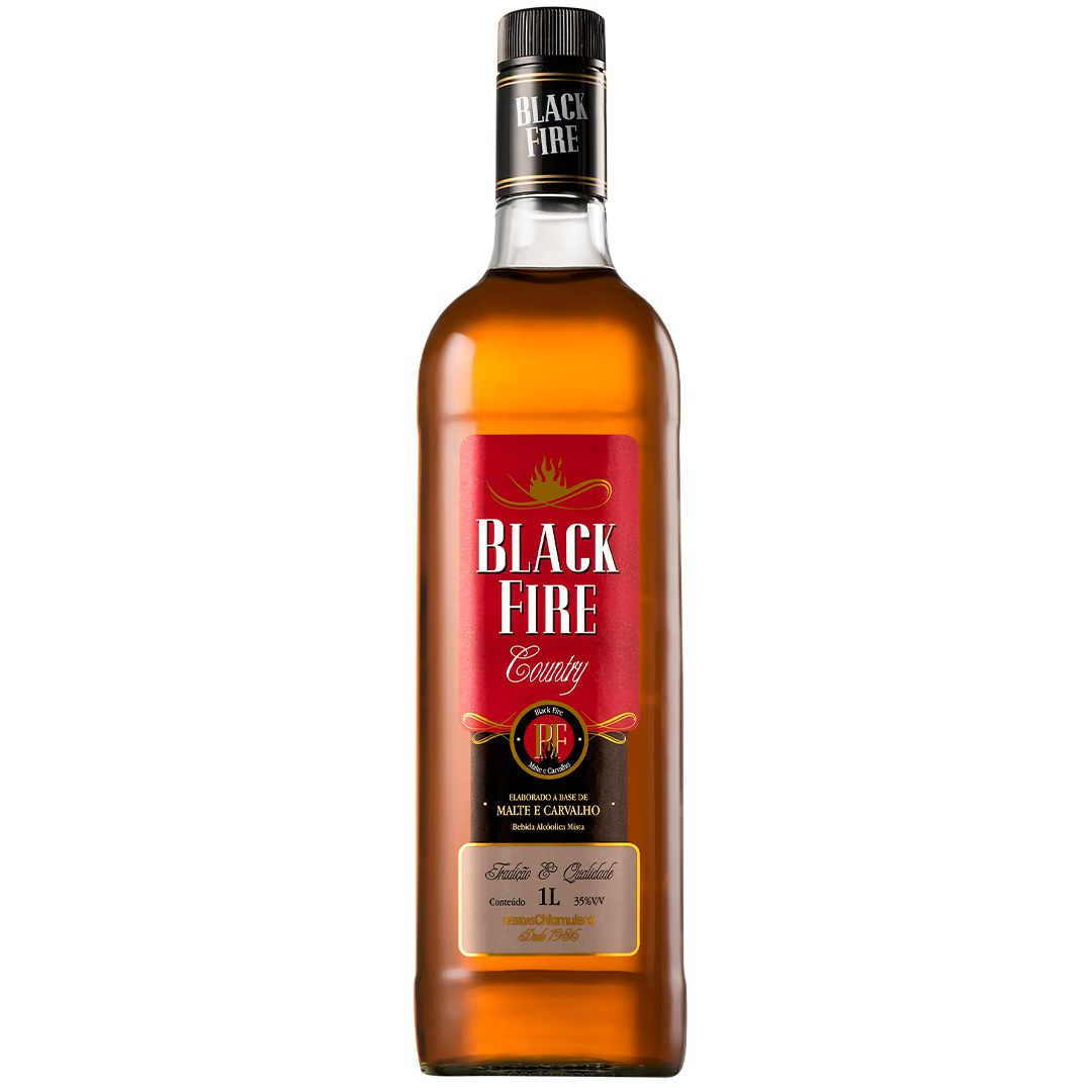 Whisky Black Fire 1L