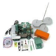 Máquina Costura Overlock Semi-Industrial PREMIER GNI-6D Portátil 220 Volts