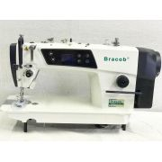 Máquina de Costura Reta Industrial Direct Drive BRACOB BC 9100-C 110 Volts