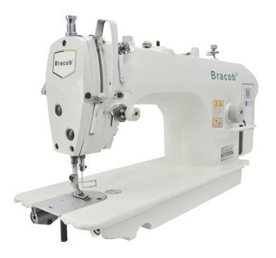 Máquina de Costura Reta Industrial Direct Drive BRACOB BC 9100-C 110 Volts