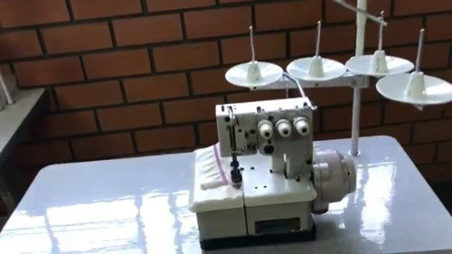 Máquina Costura Galoneira Semi-Industrial 3 ag BRACOB BC 2600D-3 Bivolts