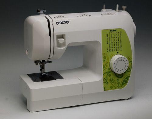Máquinas de Costura e ZigZag Doméstica Portátil BROTHER BC 2800 110 volts