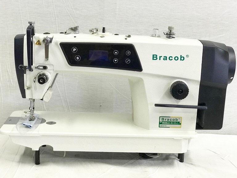Maquina de Costura Reta Industrial Direct Drive BRACOB BC 9100-C