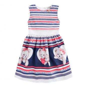Vestido Infantil Ursinho