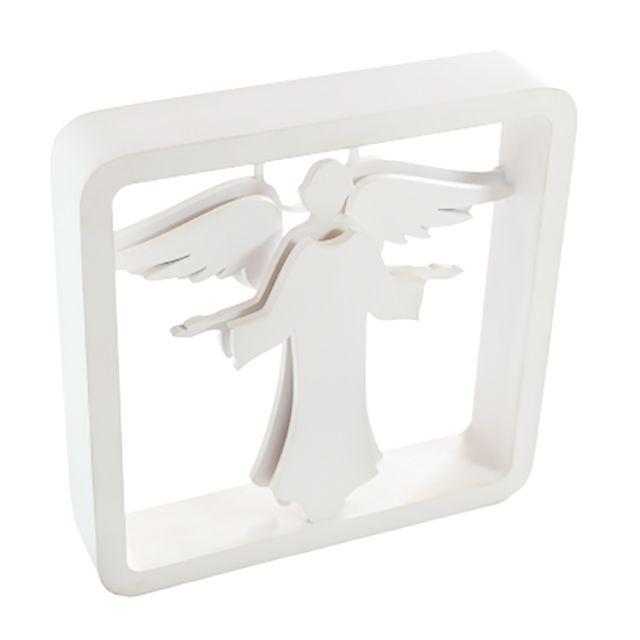 Quadro Anjo Gabriel Branco