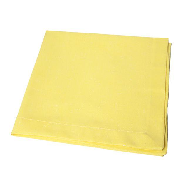 Jogo 6 Guardanapos Amarelo