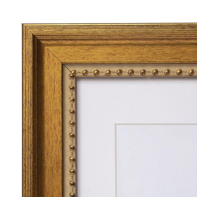 Porta Retrato em Madeira cor Ouro