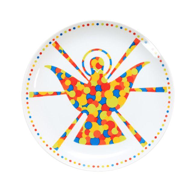 Prato Decorativo Pequeno -  Divino Espirito Santo