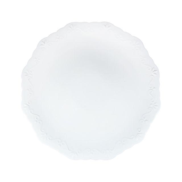 Prato para Bolo em Porcelana com Alto Relevo | Wolff