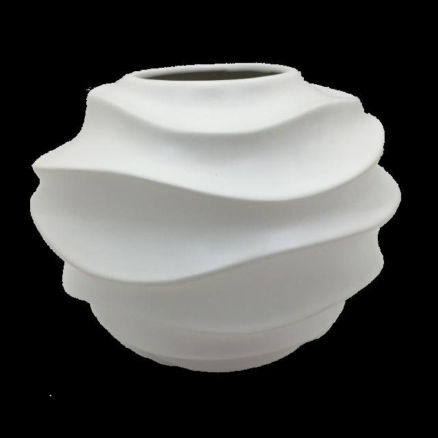 Vaso Escultura Branco