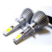 KIT LÂMPADA SUPER LED 2D H1 - 40W 8000K - E-TECH - 7200 LUMIENS - PAR
