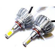 KIT LÂMPADA SUPER LED 2D HB3 - 40W 8000K - E-TECH - 7200 LUMIENS - PAR