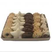 Bandeja com Biscoitos Doces Mistos Média