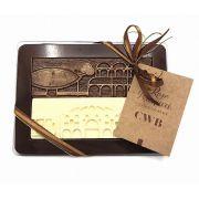 Caixa com 2 Barras de Chocolate - Tema Curitiba
